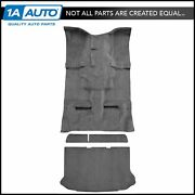For 2002-07 Jeep Liberty Cutpile 801-black Complete Carpet Molded