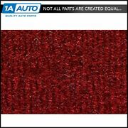 For 87-95 Plymouth Voyager Cutpile 4305 Oxblood Complete Extended Carpet Molded