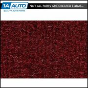 For 1994-96 Ford Bronco Cutpile 825-maroon Complete Carpet Molded