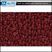 For 1972-73 Lincoln Mark Iv 2 Door 80/20 Loop 13-maroon Complete Carpet Molded