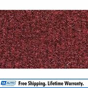 For 1974-83 Jeep Cherokee Cutpile 885-light Maroon Complete Carpet Molded