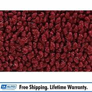 For 1970 Chevy Corvette With Padding 80/20 Loop 13-maroon Complete Carpet Molded