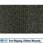 For 1974-76 Buick Lesabre 4 Door Cutpile 827-gray Complete Carpet Molded