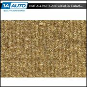 For 1981-89 Plymouth Reliant 2 Door Cutpile 854-caramel Complete Carpet Molded