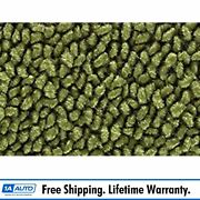 For 1965-73 Plymouth Fury 4 Door 80/20 Loop 14-moss Green Complete Carpet Molded
