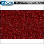 For 1990-95 Gmc Safari Extended Body Cutpile 815-red Complete Carpet Molded
