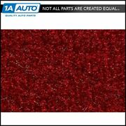 For 74-76 Bronco With Single Fuel Tank Cutpile 815-red Complete Carpet Molded