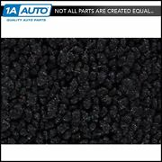 For 58 Ford Ranchero With Power Seats 80/20 Loop 01-black Complete Carpet Molded