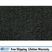 For 1983-93 Ford Mustang Convertible Cutpile 912-ebony Complete Carpet Molded