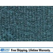 For 1981-86 Chevy K20 Truck Crew Cab Cutpile 7766-blue Complete Carpet Molded