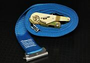 16 20and039 E Track Ratchet Straps Box Truck Trailer Enclosed Trailer Van Tie Down