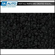 1971-73 Plymouth Cuda 80/20 Loop 01-black Carpet For Automatic Transmission