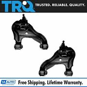 Trq Control Arm Front Lower Left And Right Pair Set For Dodge Ram 2500 3500 2wd