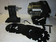 8 Super Spacer And 6 Masking Platestailstock Adjustable Chuck 0.0005 Ss-f2