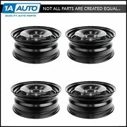 Wheel Rims 16 Inch Steel Replacement Set Of 4 For Vw Golf Gti Jetta Rabbit R32