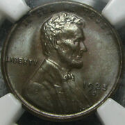 1925-s Lincoln Cent Ms-65 Bn Ngc Slabbed Lusterous Coin L@@k Brown Penny Amazing