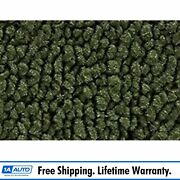 63-66 Valiant Signet Convertible W/ Tail 30-dk Olive Green Carpet For Auto Trans