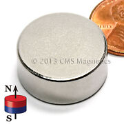 Neodymium Disk Magnet N42 7/8x3/8 Strong Ndfeb Rare Earth Magnets Lot 200