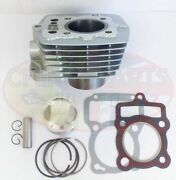 200cc Cylinder Bore Set For Chinese Air Cooled Motorcycle 163fml