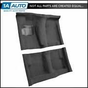 71-73 Roadrunner With Console Bucket Seats Manual Trans Complete Carpet 01 Black