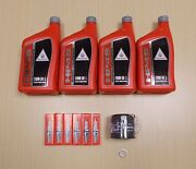 New 2013-2014 Honda Gl1800 Gold Wing F6b Oe Basic Synthetic Oil Tune-up Kit