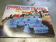 Mth Lionel Corp. Brand New 2014 Tinplate Color Catalog Standard And O Gauge Trains