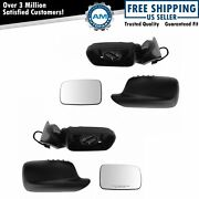 Mirror Power Heated Memory Driver And Passenger Side Pair For Bmw E46 325ci 330ci