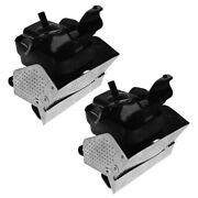 Engine Mount W/ Bracket Front Lh Rh Pair Set For Cadillac Chevy Gmc Pickup Suv