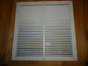 Metalaire V4002rds Grill Hvac T-bar Lay-in - 24 X 24 22 X 22 Neck W Damper