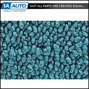 For 68-69 Buick Gran Sport Gs 350 W/ Bench Seat Carpet 09-med Blue Manual Trans