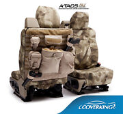 New A-tacs Arid / Urban Camo Camouflage Seat Covers W/molle System / 5102062-23