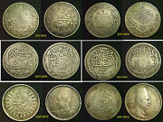 Egypt Silver Coins 1800s Onward Choose Your Coin Supplied In Coin Wallet