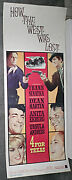 4 For Texas Orig Rolled Movie Poster Frank Sinatra/dean Martin/ursula Andress