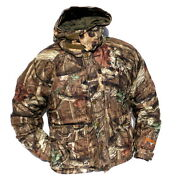 Cabelaand039s Menand039s Scent-lok Silent-suede Mossy Oak   Realtree   Zonz Hunting Parka