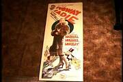 Subway Sadie 1926 Rolled Insert 14x36 Movie Poster Dorothy Mackaill Silent Film