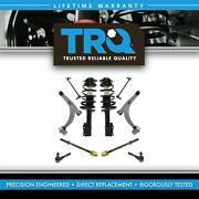 Trq Front Struts Springs Lower Control Arms Tie Rod Ends Sway Bar Links 10pc Kit