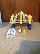 Used Geotrax By Fisher Price Extension Bridge And Vehicle. See Pictures.