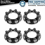 Oem Center Cap Chrome 8 Lug Front Rear Set Of 4 For Ford F250 F350 Pickup 4wd