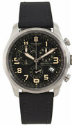Victorinox Swiss Army 241578 Infantry Vintage Menand039s Chronograph Watch - New