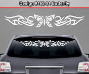 Design 165-01 Butterfly Back Window Decal Sticker Graphic Tribal Accent Car Suv