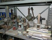 Lot Of 10 Vintage Small Famco Dake 1 0 Cast Iron Solid Steel Arbor Presses