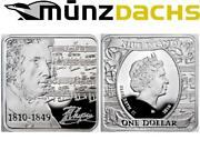 1 Frederic Chopin Niue Island Poland Sterling Silver 2010 Proof Square Sold Out