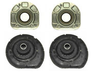 Oem Left+right Front Strut Mounts Bearing And Coil Spring Seat Bushing For Volvo