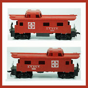 Vintage Tyco Santa Fe Red Caboose A.t. And S. F. No. 7240 Train
