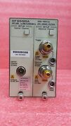 Agilent / Hp 83485a Optical Plug In Module With Option H92
