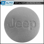 Oem 5ht59pakac Wheel Hub Center Cap Silver Left Right Front Rear For Jeep New