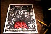 Punk Rock Movie Orig Movie Poster And03978 Sex Pistols Siouxsie Banshees Wayne County