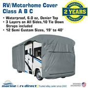 Waterproof Rv Cover Motorhome Camper Travel Trailer 28and039 29and039 30and039 Class A B C