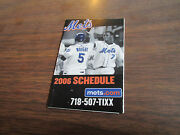 2006 New York Mets Schedule -nl East Champs -reyes And Wright