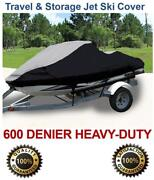 Pwc 600d Jet Ski Cover Seadoo Bombardier Gs Inter First Series 2001 1-2 Seater